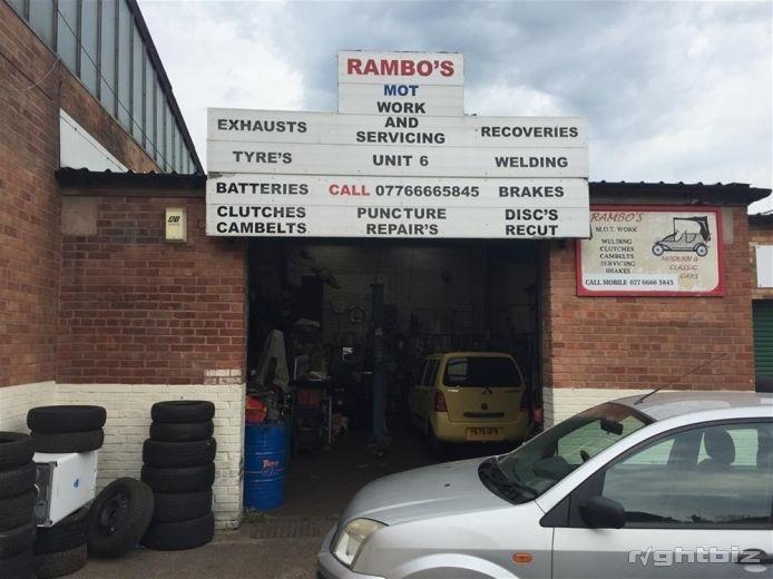 AUTO REPAIRS WORKSHOP FOR SALE IN BIRMINGHAM SUBURB - Image 1