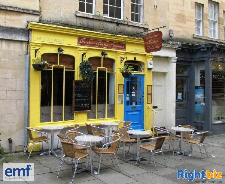 Thriving well known Bath traditional Italian bistro - Image 1