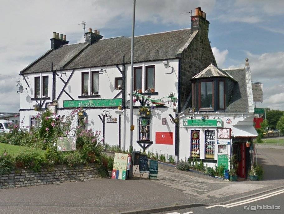 Olive Tree Restaurant for lease - subject to purchase. Central Dunfermline. - Image 1