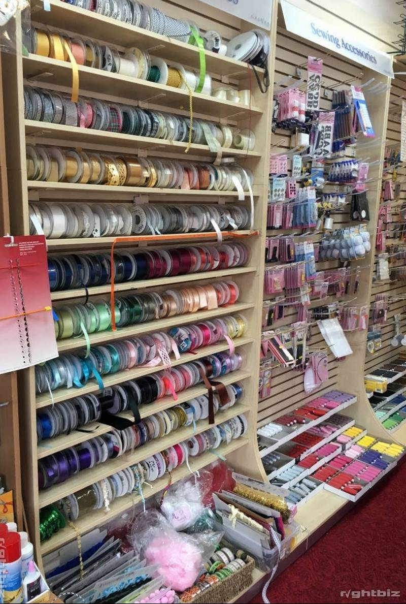 Haberdashery, Net, Curtains, craft and yarns. In shopping centre - Image 1