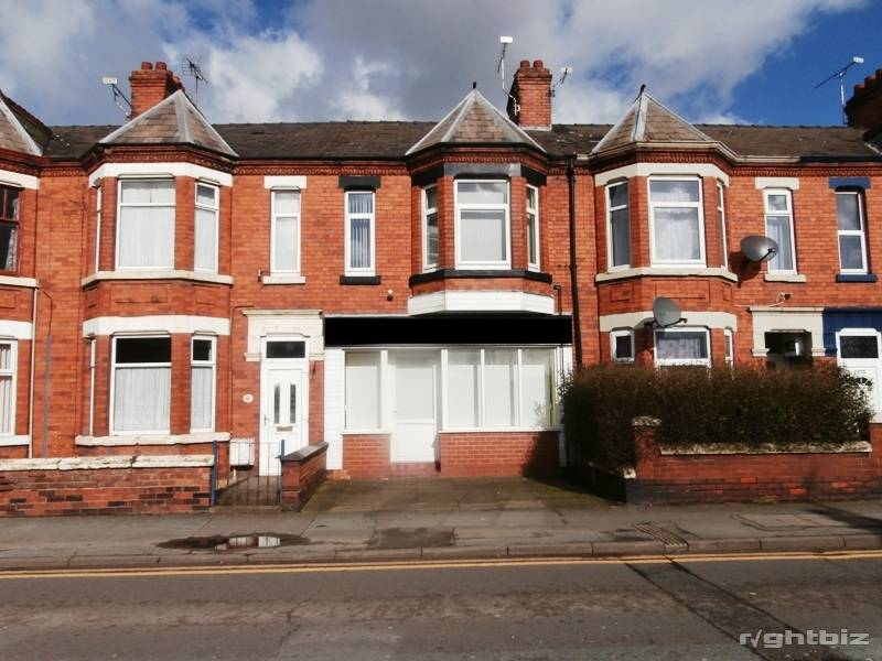 Hair Salon With Accommodation For Sale Crewe Cheshire Freehold - Image 1