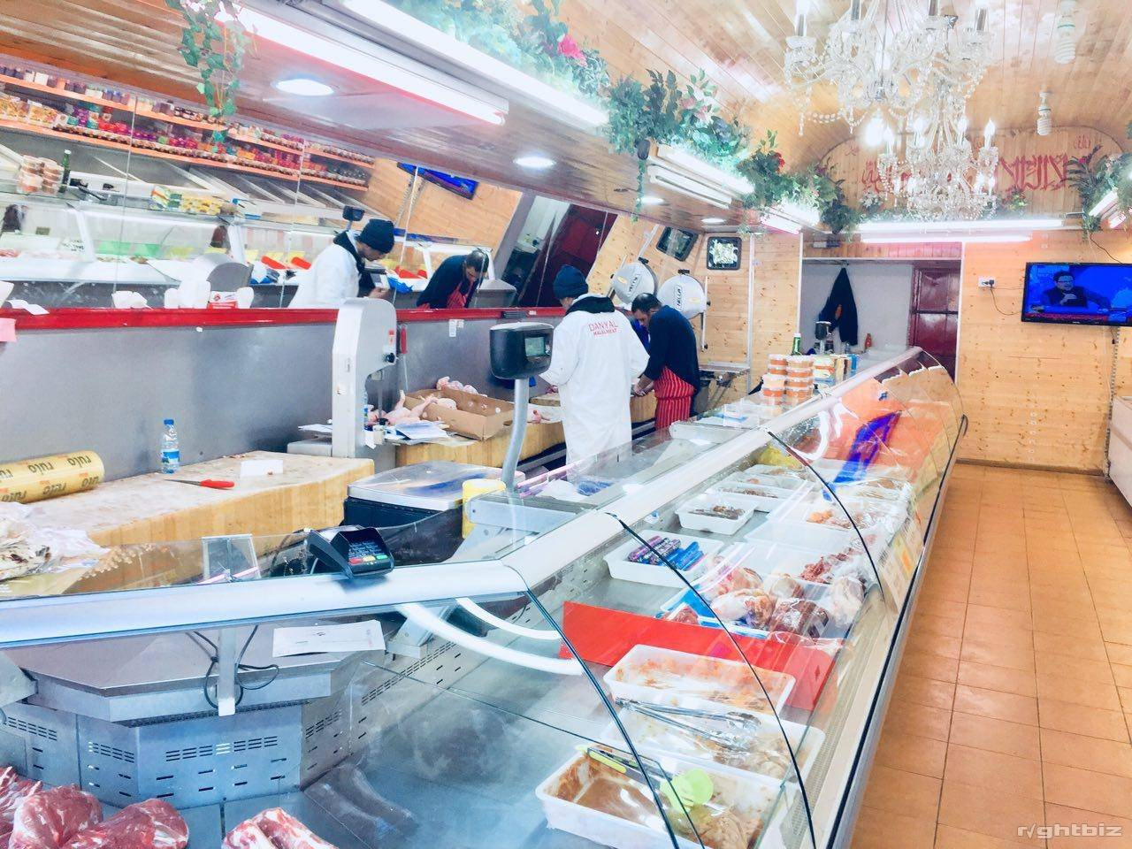 Halal Meat Shop Running Business For Sale - Image 1
