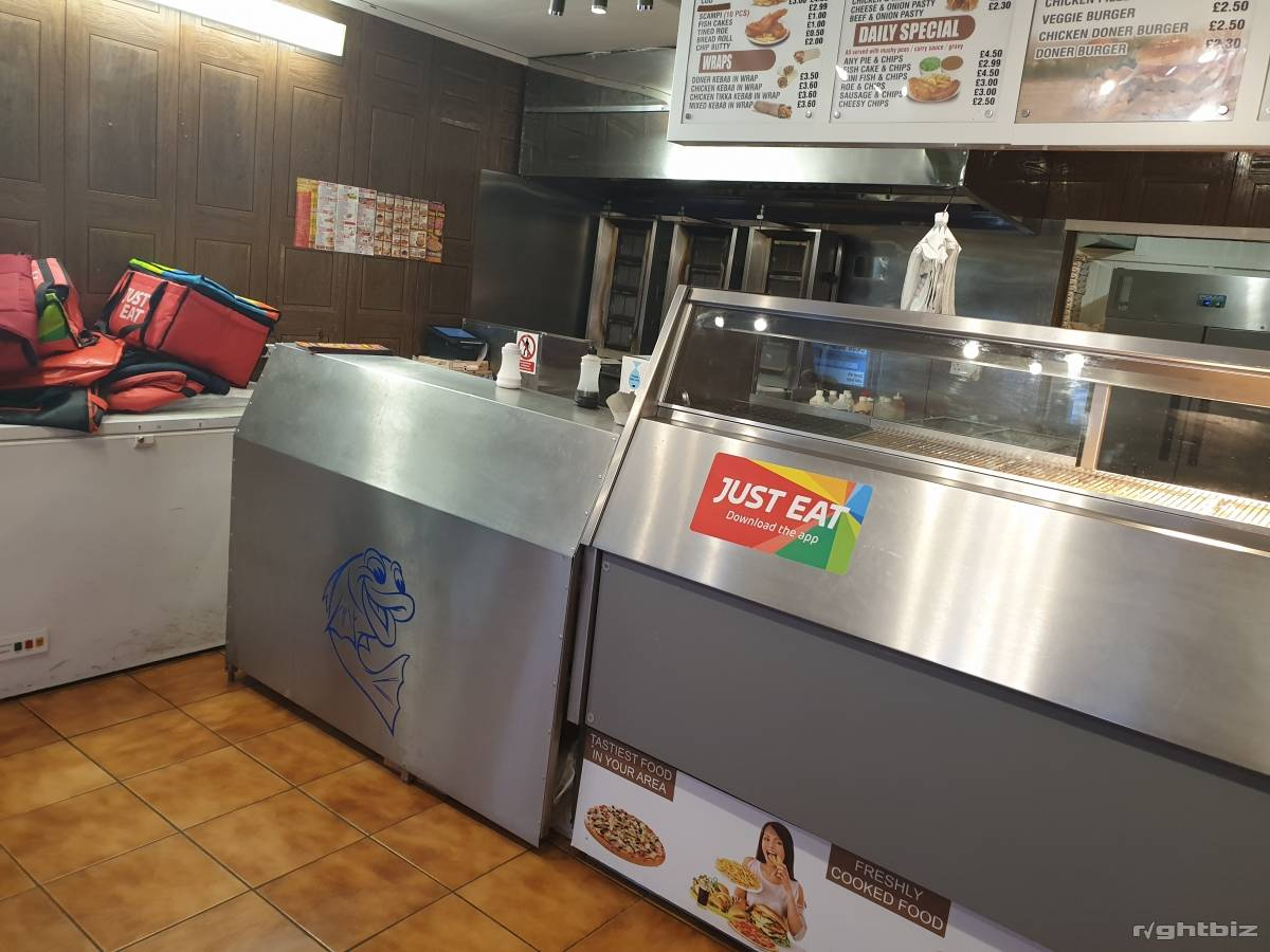 Takeaway / Fish and chips business for sale - Image 1