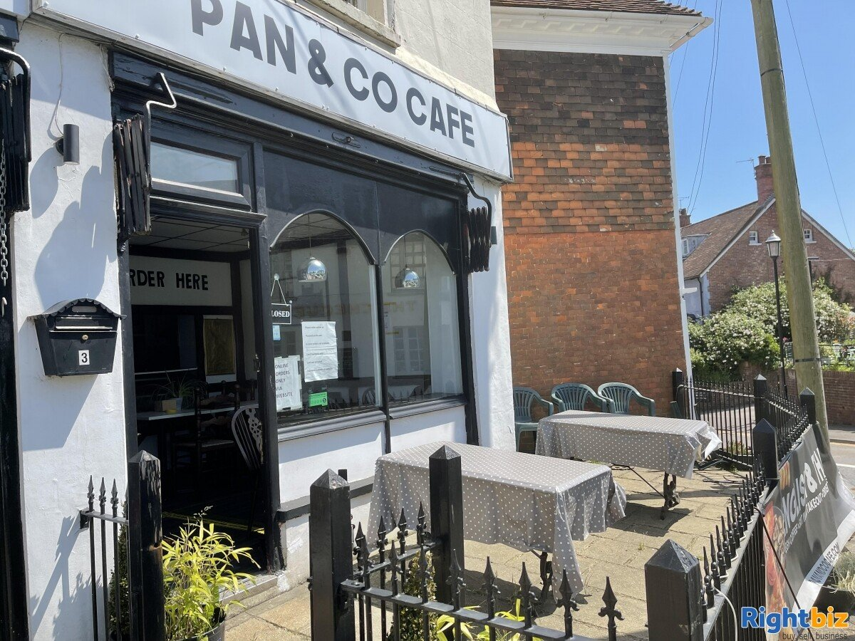 Thai/British Cafe for sale with A3 permission Reduced price - £5k annual rent - Image 1