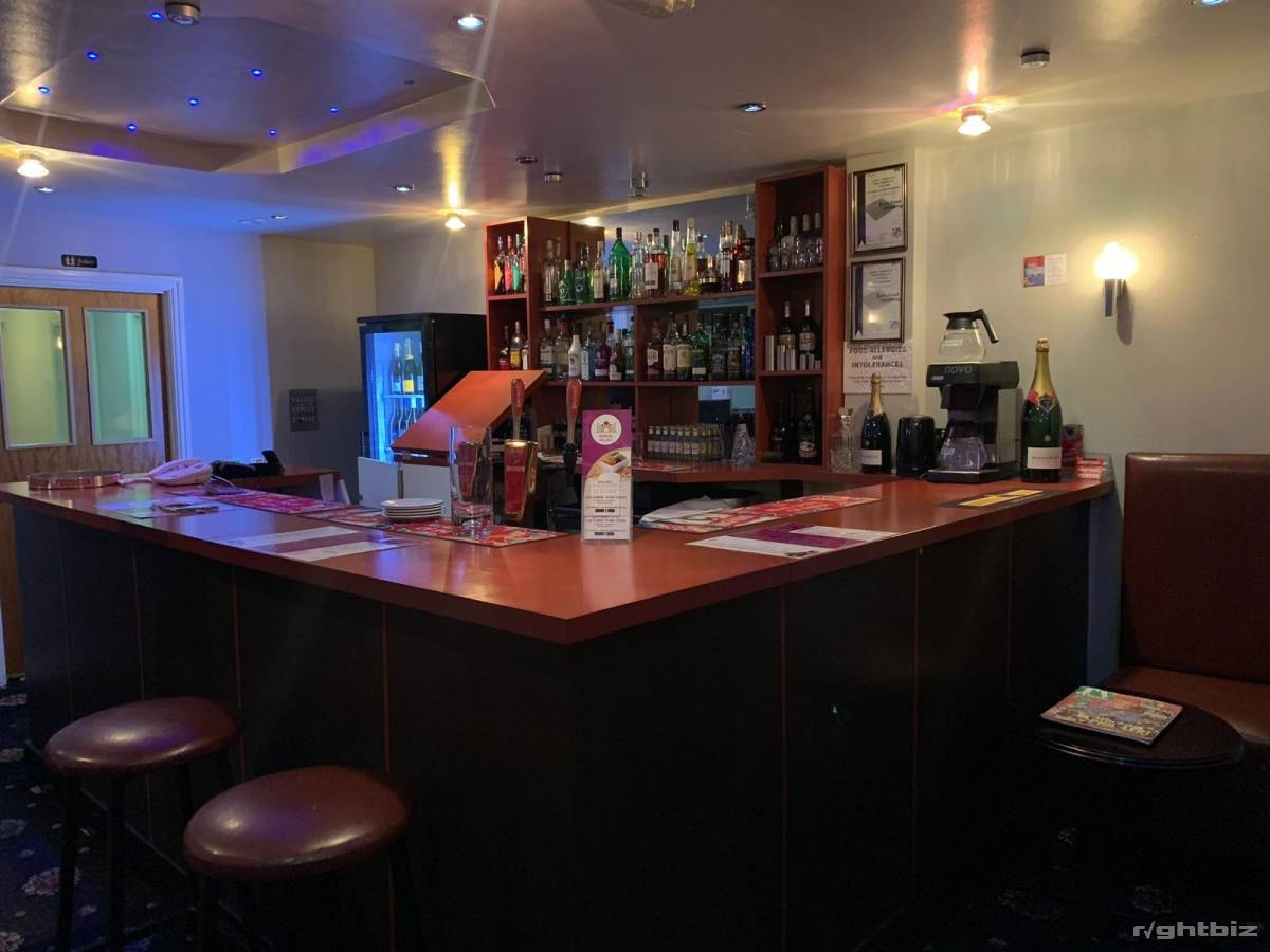 Indian restaurant Stourbridge west midlands very good location high street with rear parking - Image 1