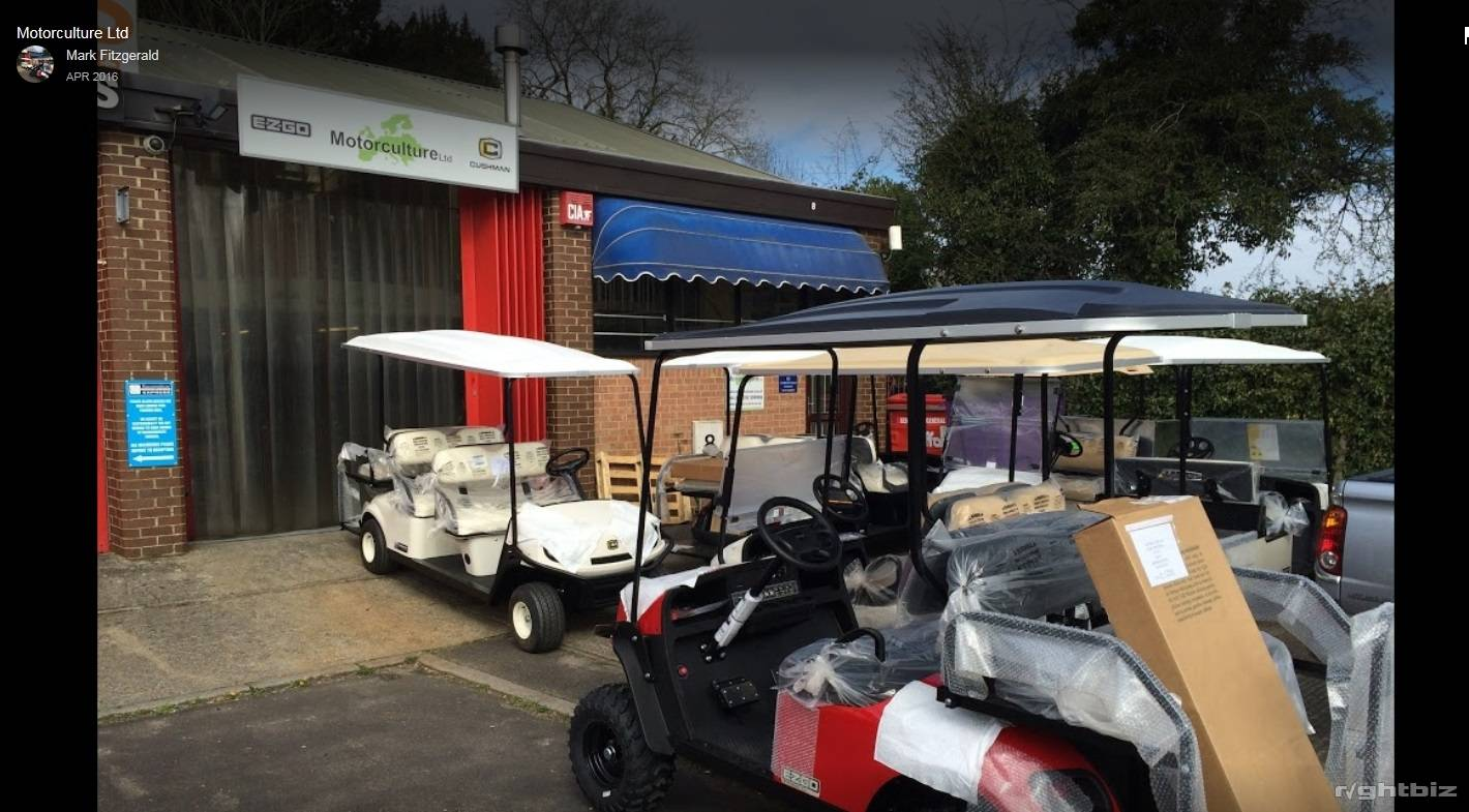 Golf Hospitality Utility Electric & Petrol Vehicles, Buggy Sales and Repair internet business - Image 1