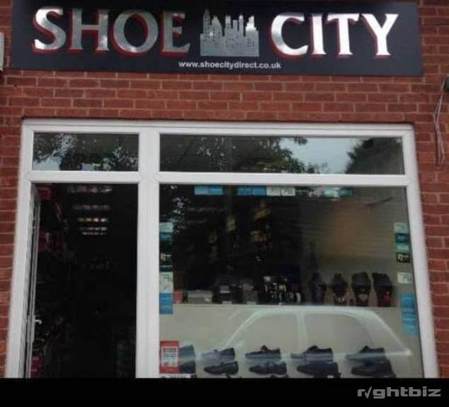 Shoe business  Located in birstall leicester established since 2011  situated in the busy village - Image 1