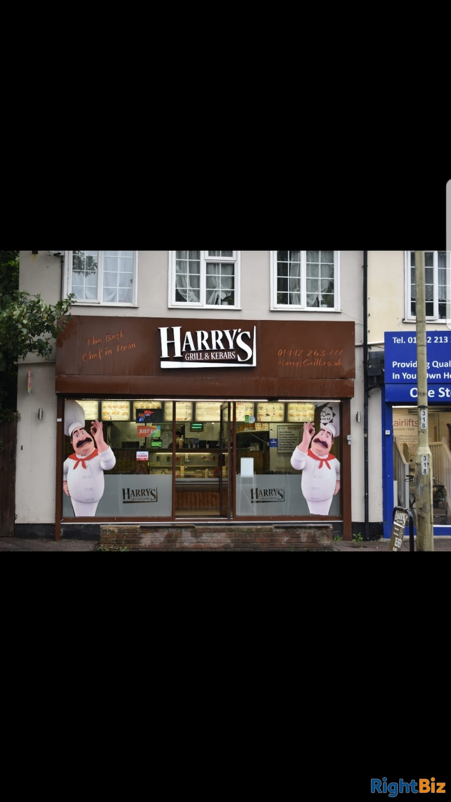Harry's grill & kebabs. Well established since 2012. Selling kebabs, burgers, fried chicken. - Image 1