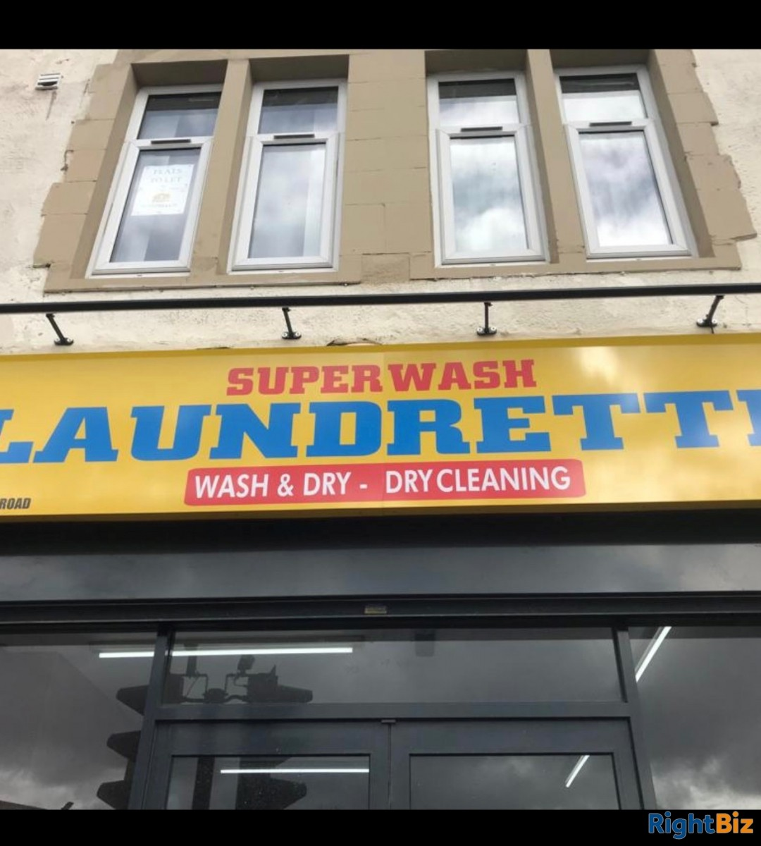 Laundrette for sale. Small business everything new. Prime location!! WF9 2AE. - Image 1