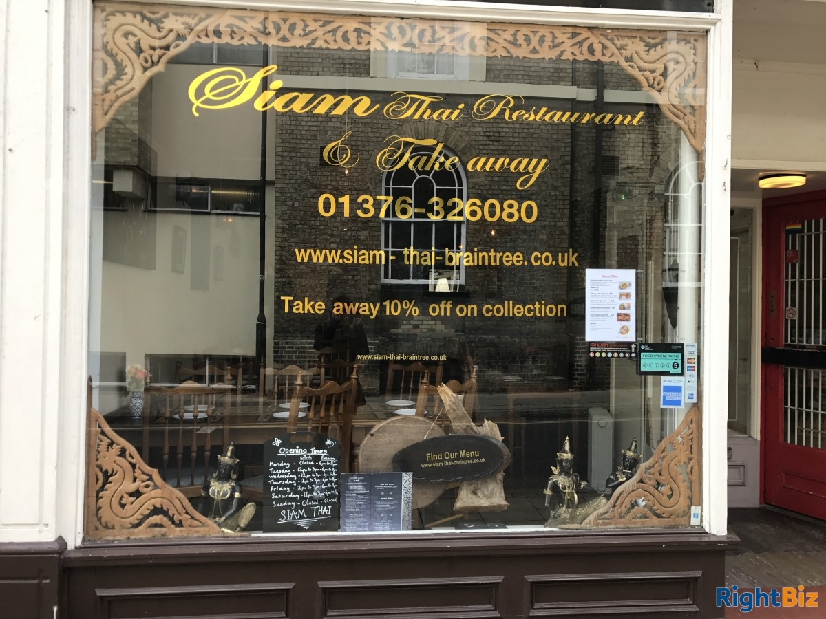 Thai restaurant and take away, Braintree - Image 1