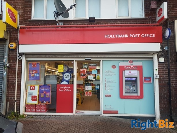 Lock up Post Office located in popular West Midlands area. - Image 1