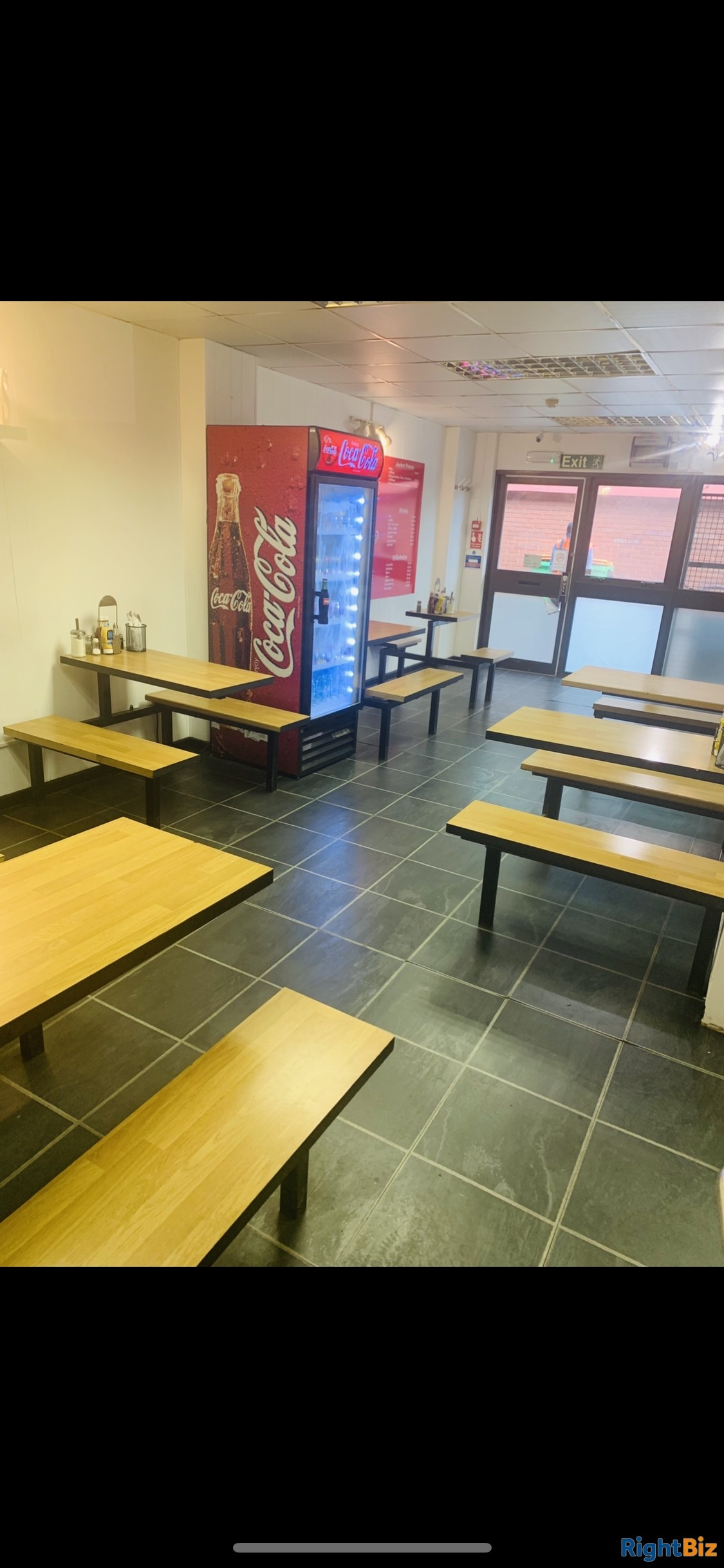 Cafe for sale - only place to eat on an industrial estate for 52 businesses - quick sale - Image 1