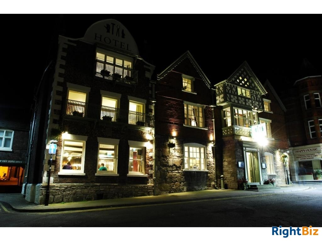 North Wales Historic Coaching Inn Hotel, Bar & Restaurant Leasehold for Sale - Image 1