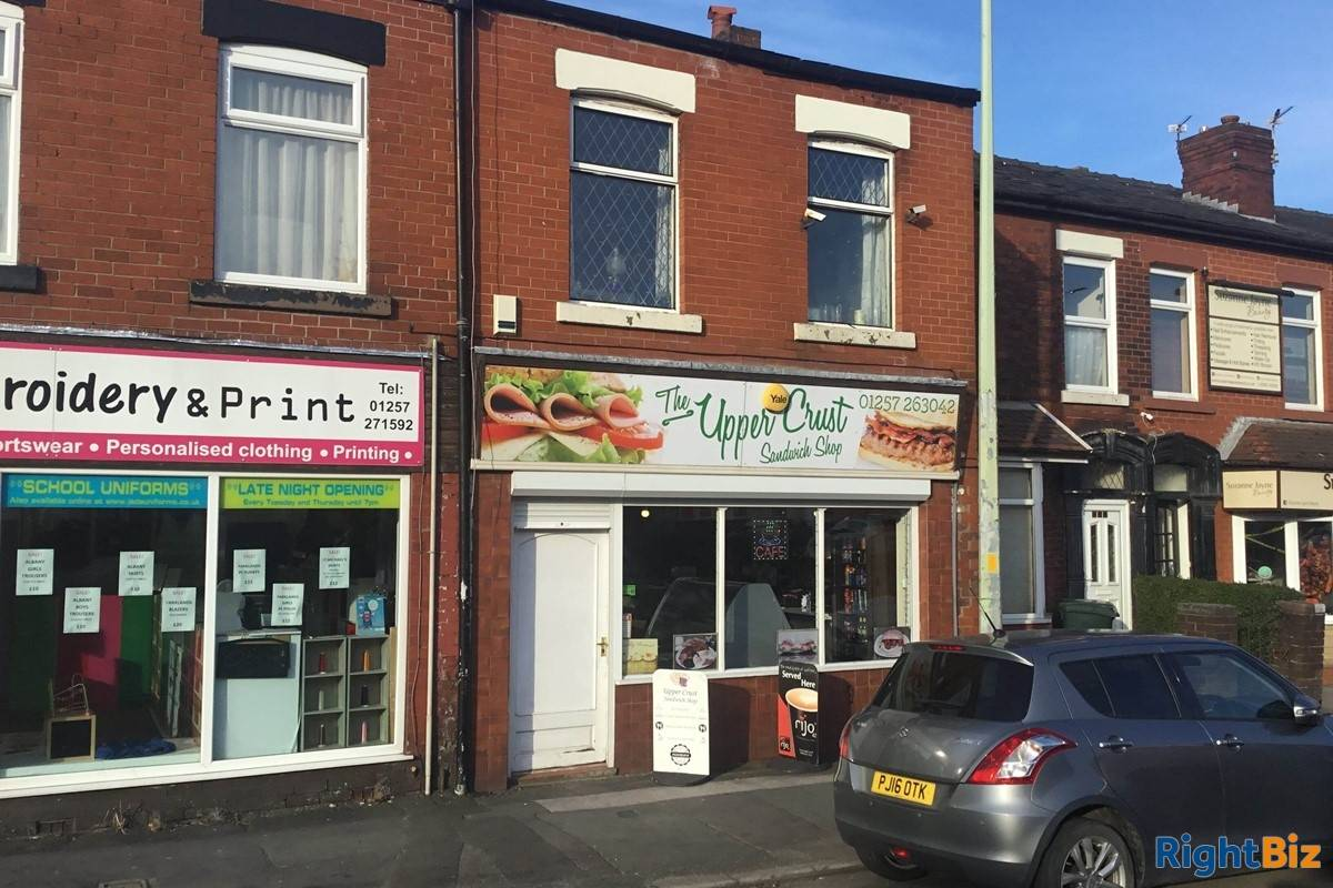 Sandwich Shop & Cafe With Accommodation - Chorley - Image 1