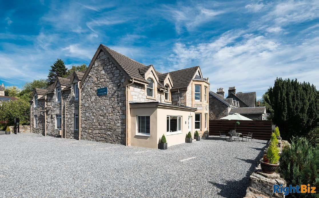 For Sale - Stunning 8 Bedroom Bed + Breakfast, Pitlochry - Image 1