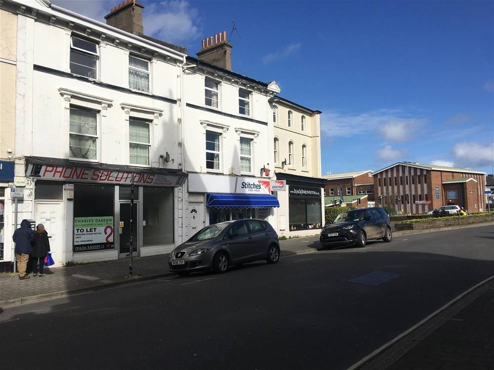 Town Centre Retail Premises For Sale in Newton Abbot - Image 1
