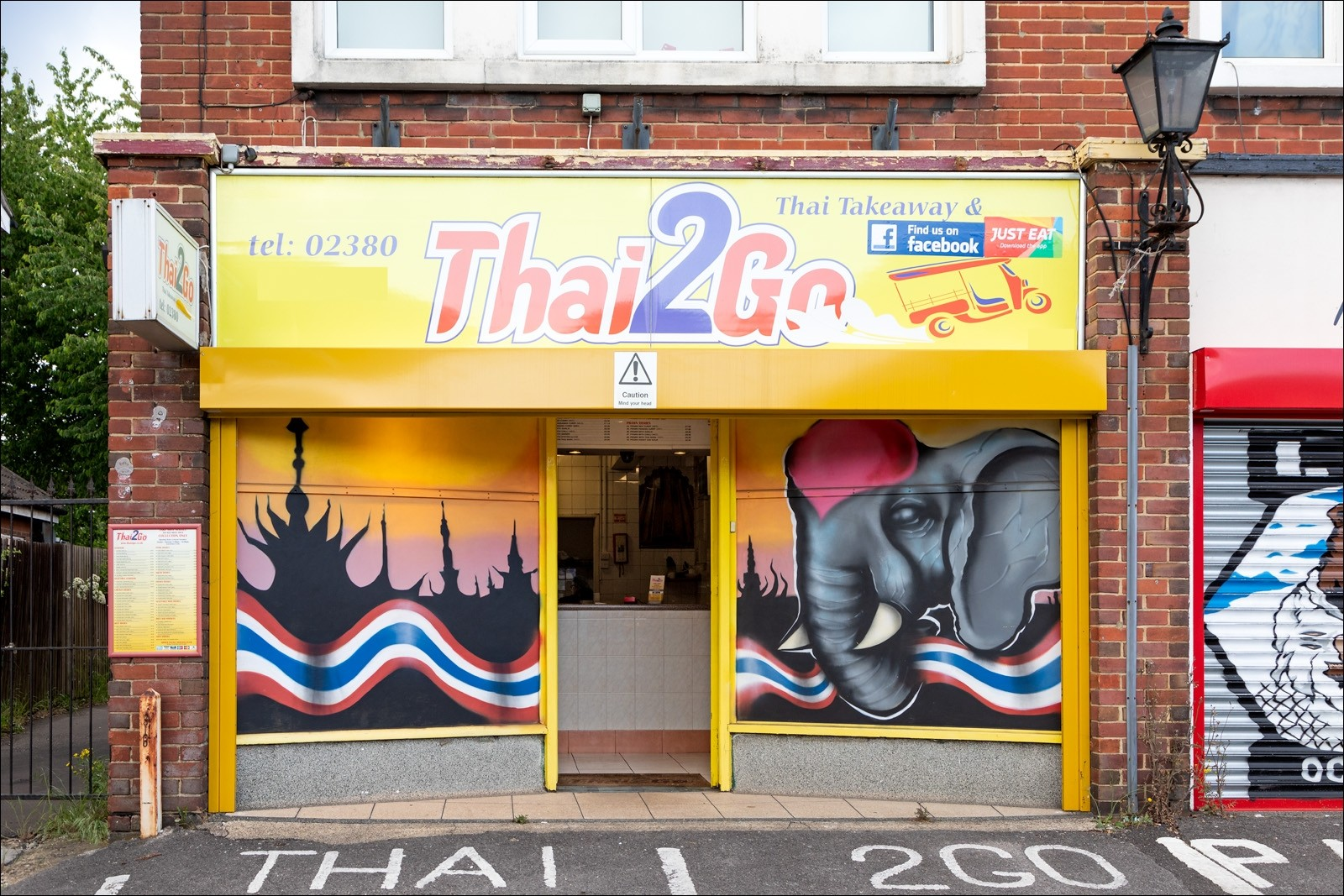 Thai Take Away With Deliveries (A5 Use), 2 Bed Flat Above, Main Road Parade, Southampton, Hampshire - Image 1
