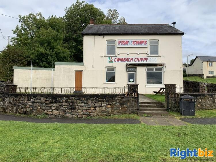 FREEHOLD VILLAGE FISH BAR WITH FAMILY HOME NEAR ABERDARE - Image 1