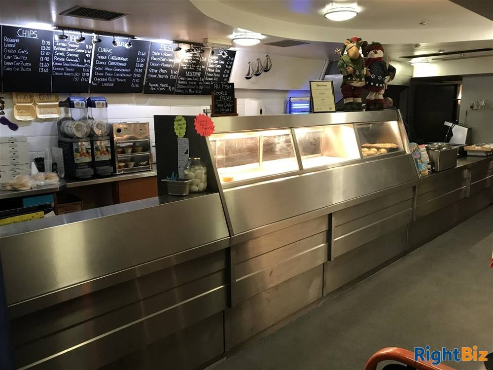FREEHOLD FISH & CHIP TAKEAWAY & RESTAURANT WITH PRIVATE APARTMENT IN LLANELLI TOWN CENTRE - Image 1