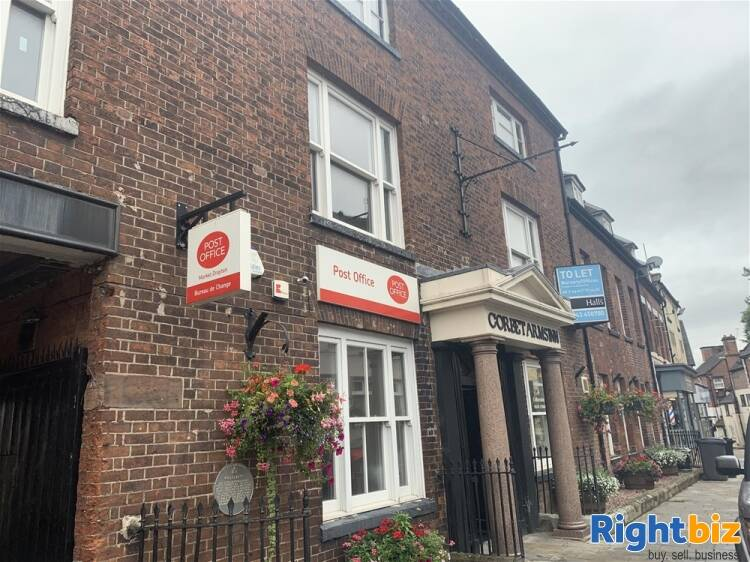 MAIN POST OFFICE & STATIONERS IN MARKET DRAYTON TOWN CENTRE - Image 1