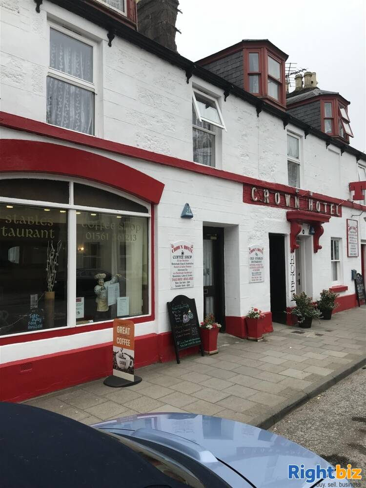 CHARMING FREEHOLD TOWN CENTRE HOTEL/BAR & RESTAURANT ON THE ABERDEENSHIRE COAST - Image 1