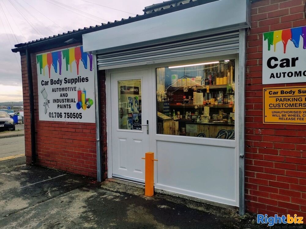 Leasehold Automotive Industrial Paint Supplies Business Rochdale Greater Manchester For Sale - Image 1