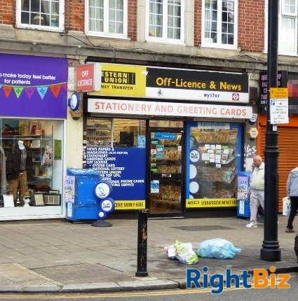 Counter News, Confectionery, Tobacco, Greeting Cards, Stationery Slight Convenience Groceries, Full Free Off Licence, National Lottery, Oyster, Wester - Image 1