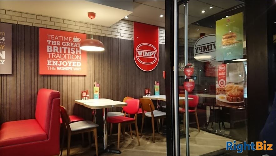 WIMPY RESTAURANT – ESTABLISHED OVER 40 YEARS £10,000 PER WEEK TURNOVER - Image 1