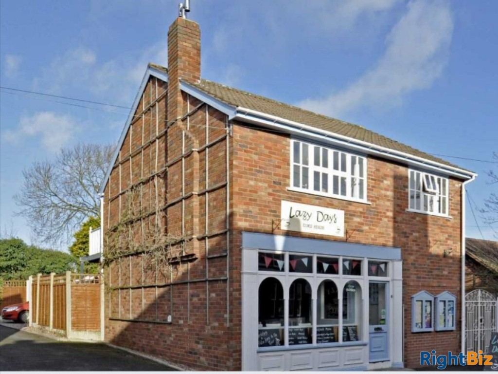 Freehold Cafe / Tea Rooms in Brewood  with Lovely 2 bedroom accommodation. - Image 1
