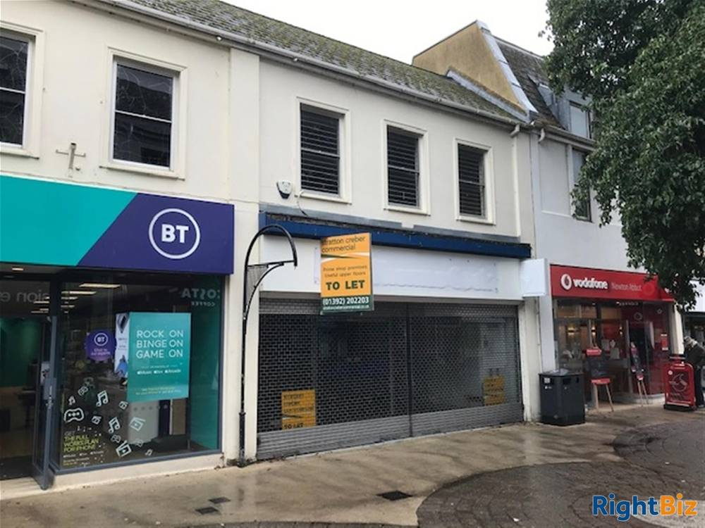 Primary Retail Trading Premises To Let For Sale in Newton Abbot - Image 1
