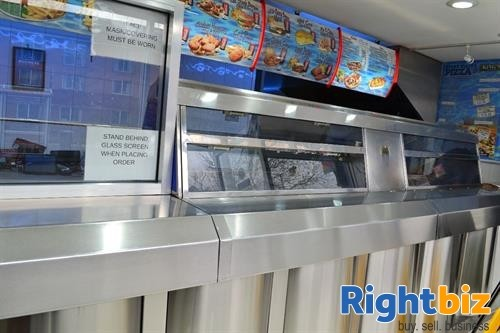 Established West Bromwich Chip Shop - £5,600 to £5,700 PW. Prominent Location - Image 1
