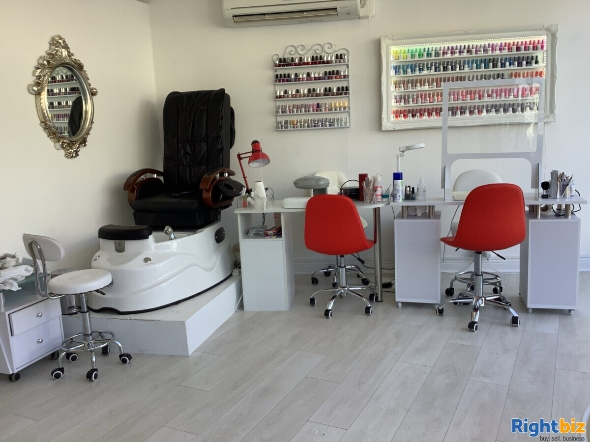 Established Nails, Tanning and Beauty salon for sale in Worthing near Brighton - Image 1