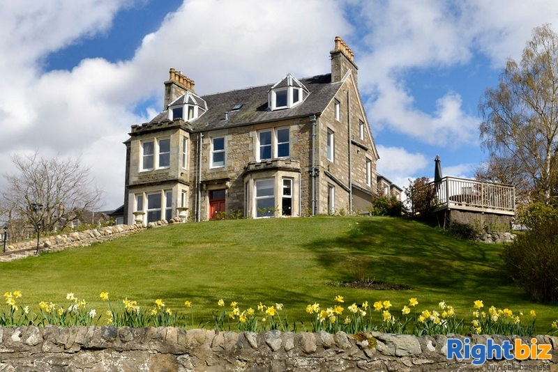 Exceptional 6-Bedroom Guest House with Stunning Views in Pitlochry - Image 1