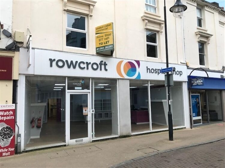 Highly Visible Retail Trading Premises To Let For Sale in Newton Abbot - Image 1