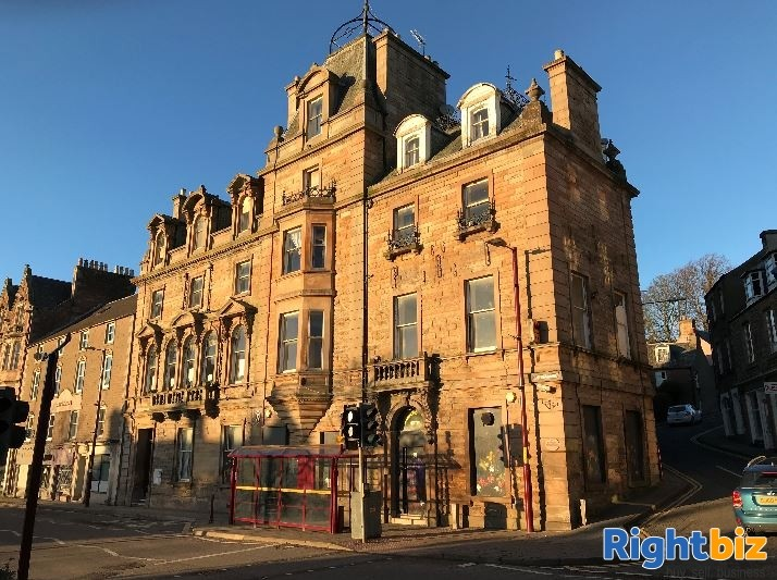 For Sale - Former Drummond Arms Hotel in Affluent Crieff - Image 1
