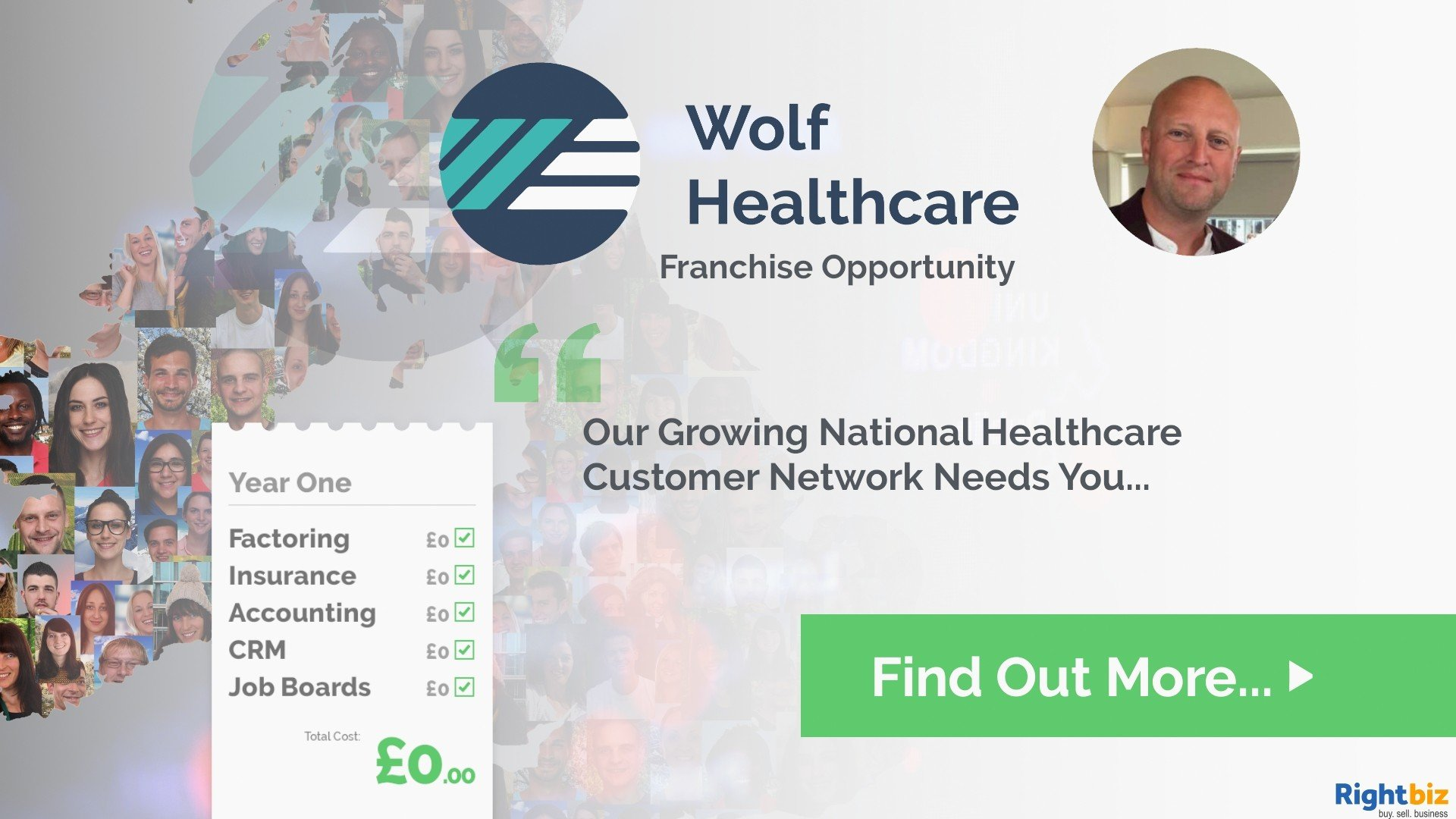 Join One Of The UK's Fastest Growing Franchises Wolf Healthcare Recruitment Bury - Image 1