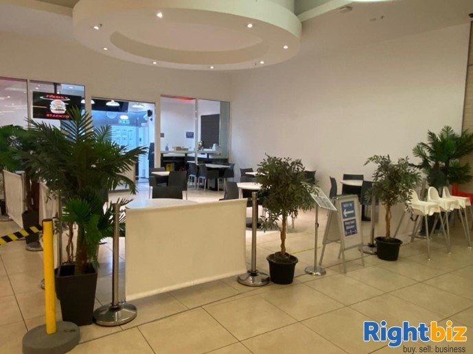 50 Cover Full Class 3 Cafe Located in Busy Shopping Centre in Fife - Image 1