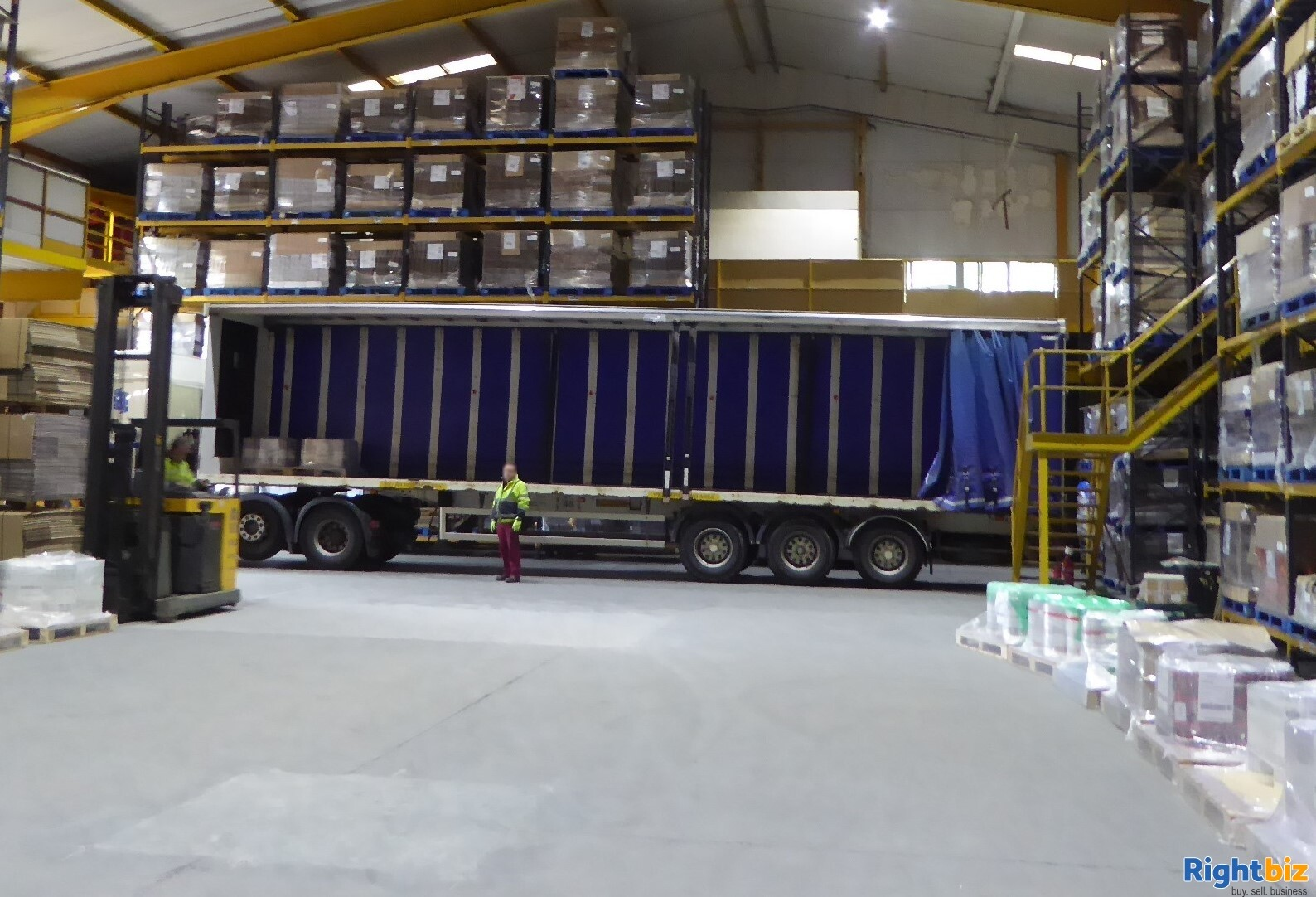Warehouse Business with Freehold For Sale.  Run by staff. - Image 1