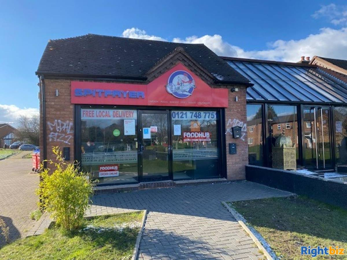 Leasehold Fast Food Takeaway Located In Castle Bromwich - Image 1