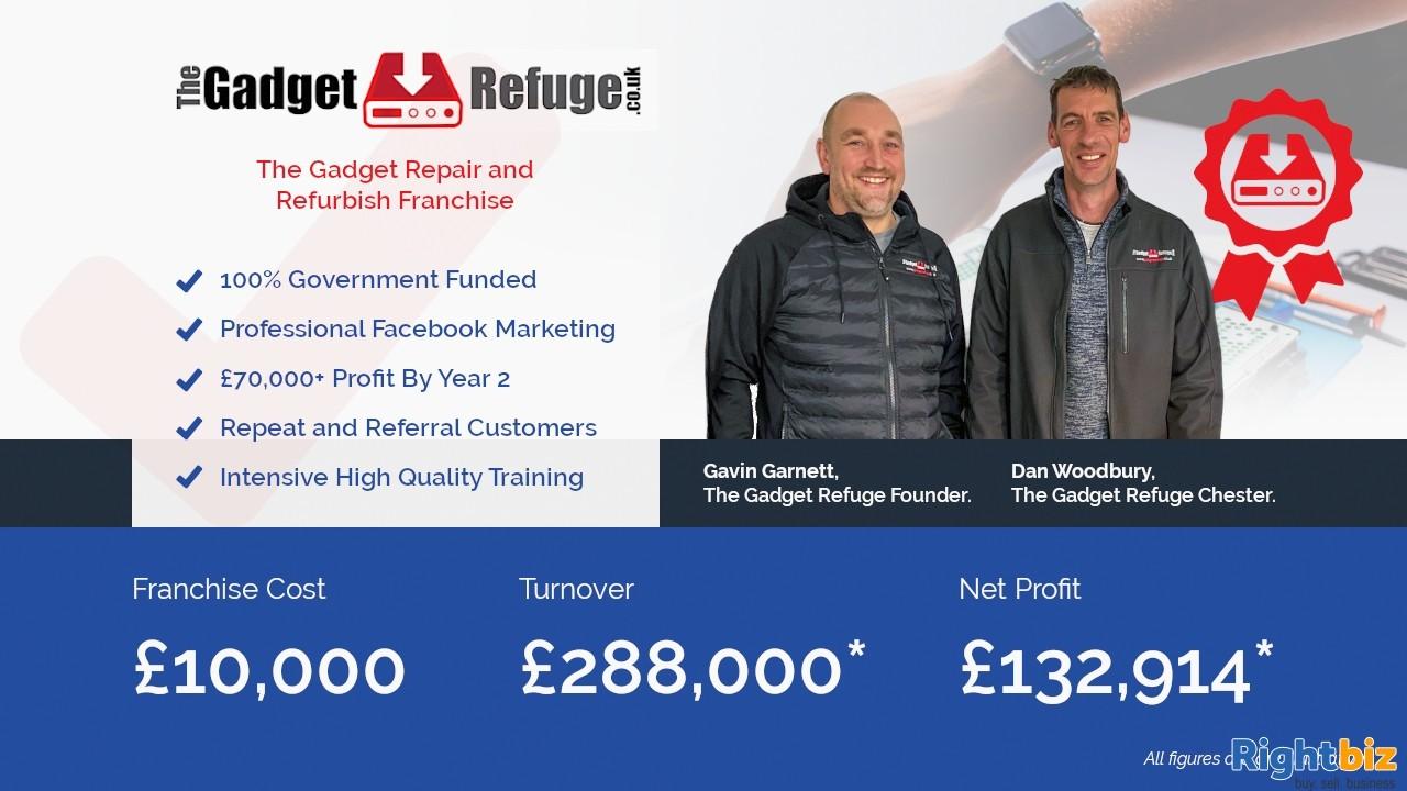 Gadget Refuge - Gadget Repair & Refurbish Franchise in Glasgow 100% Government Funding - Image 1
