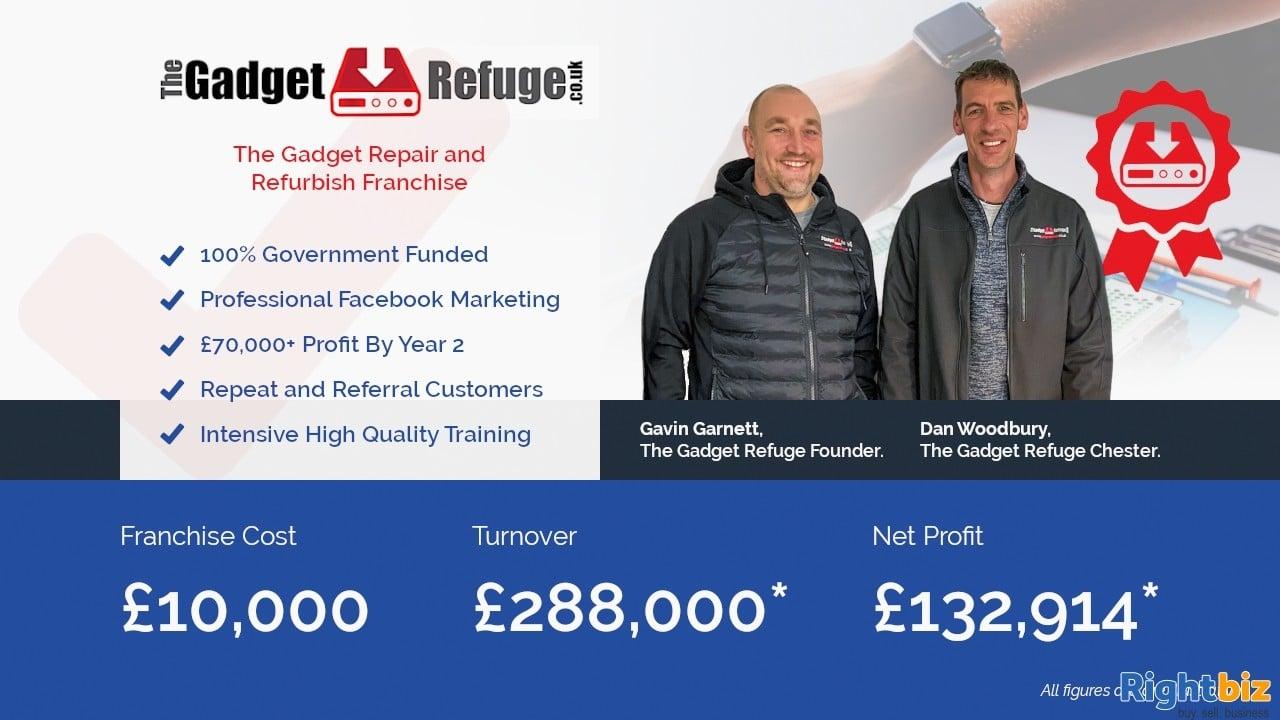 Gadget Refuge - Gadget Repair & Refurbish Franchise in Kent 100% Government Funding - Image 1