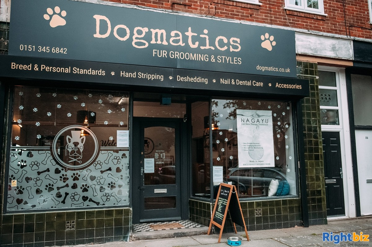 Extremely popular and established dog grooming salon for sale in South Liverpool - Image 1