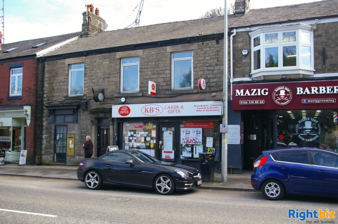 Stockport, Cheshire Post Office, Greeting Cards, Stationery, Gifts, E-Cigs. £35,000 Plus SAV - Image 1