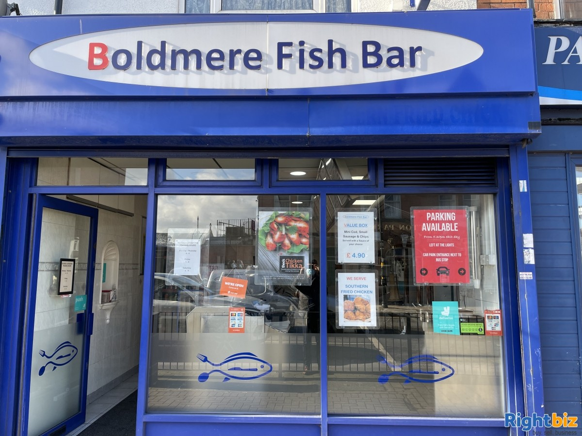 Well Established Fish & Chip Shop for Sale - Image 1