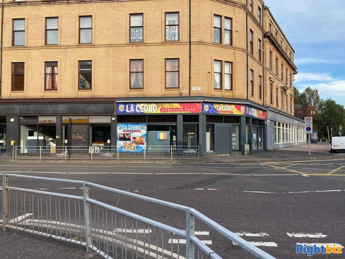Leasehold shop for sale in Glasgow - Image 1