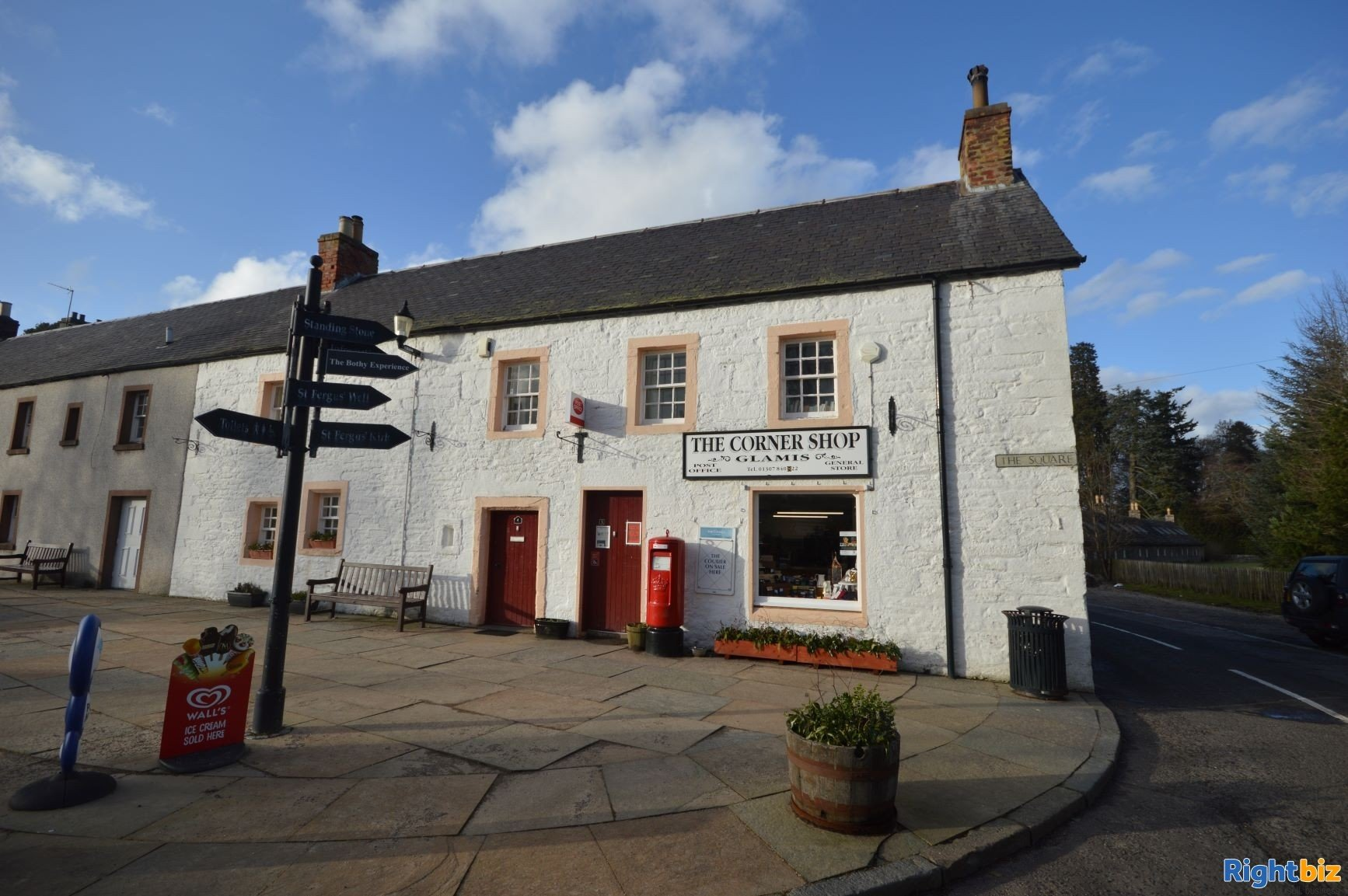 Post Office, Village Store and Tearoom located in the stunning East of Scotland village of Glamis (r - Image 1
