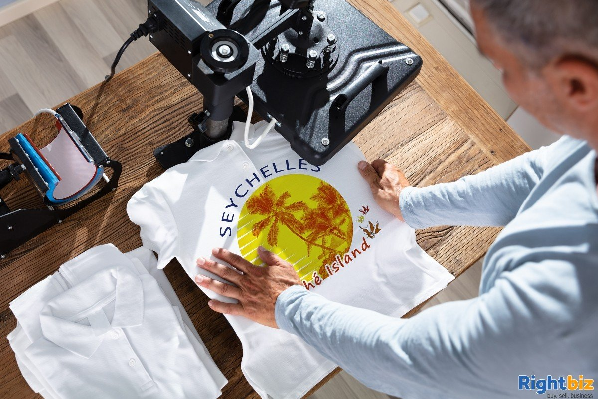 Printing Service Franchise Business In Glasgow For Sale - Image 1