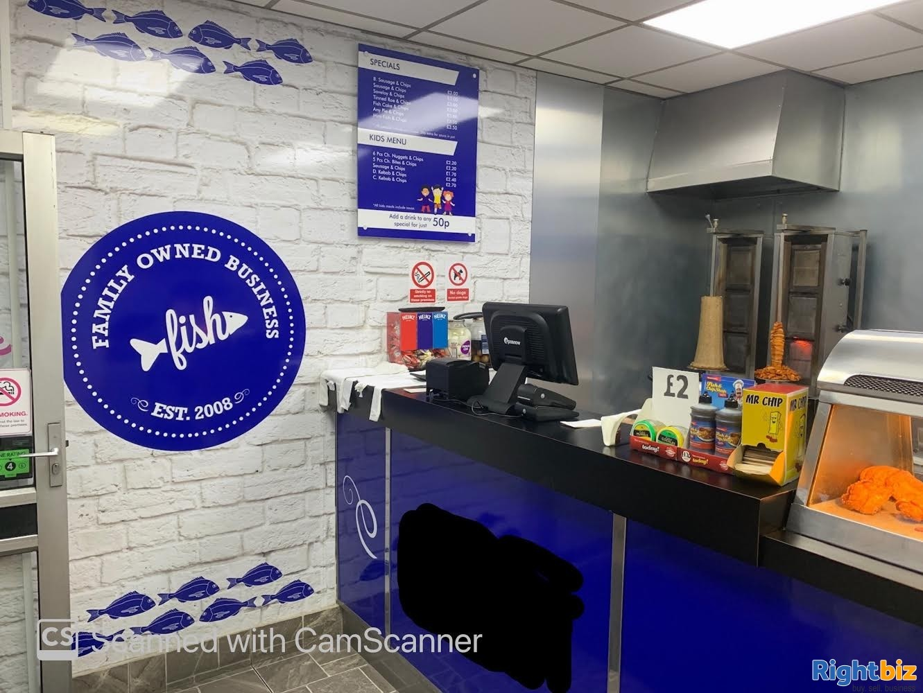 Leasehold Fish & Chips Shop in Bearwood - Image 1