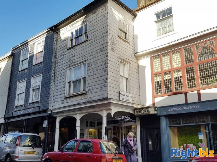 Prominent Investment in Primary Town Centre Location For Sale in Totnes - Image 1