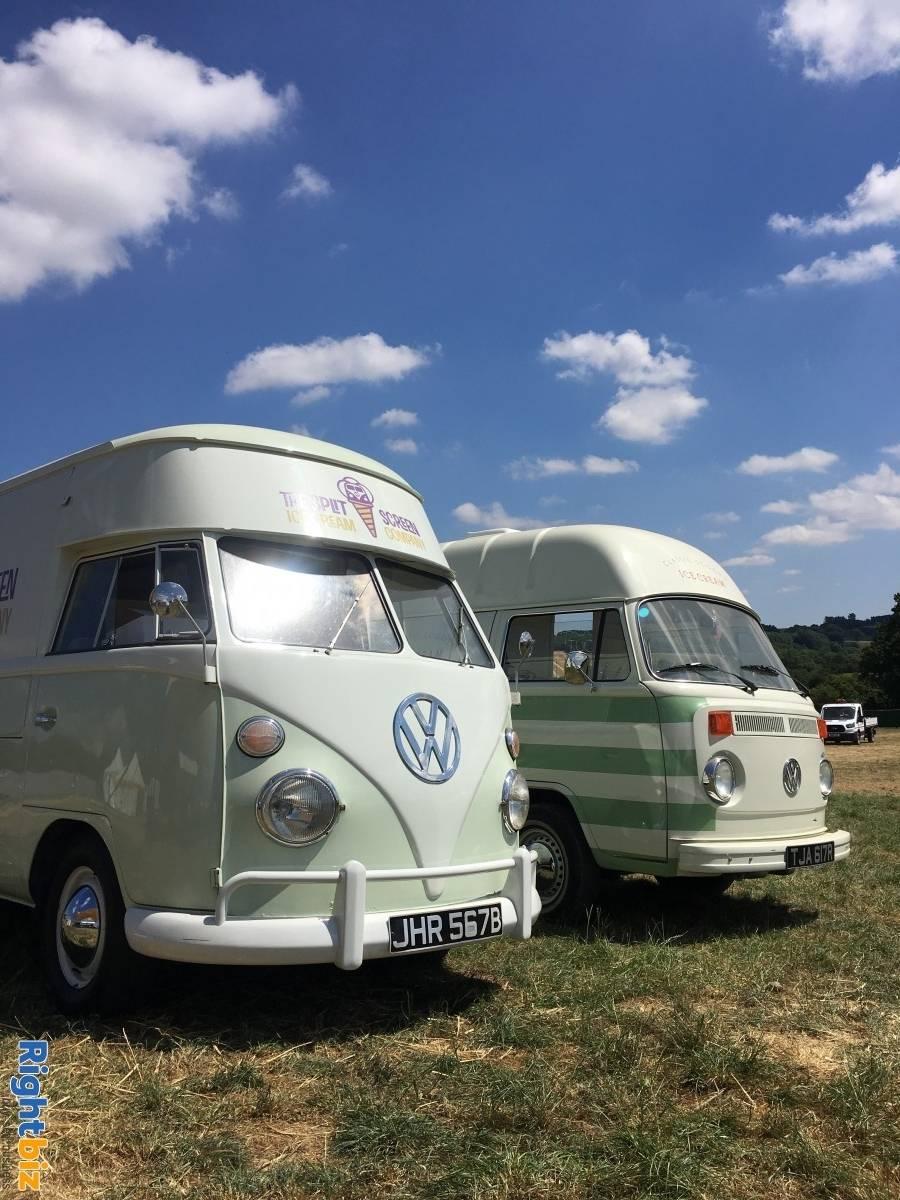 Vintage VW Ice Cream Van business x 3 units - The Split Screen Ice Cream Co. - Image 1